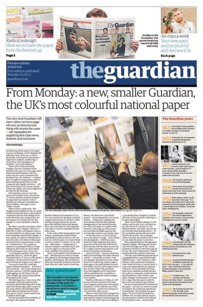layout of guardian newspaper image gallery newspaper design