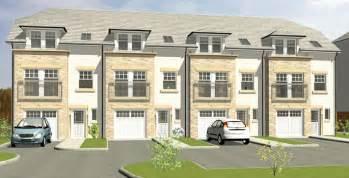 townhouse plans with garage raith developments lochty meadows