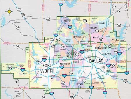 dallas and fort worth metro combo book by mapsco
