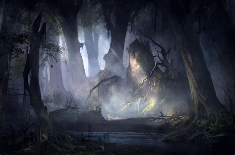 forest artistic wallpaper hd