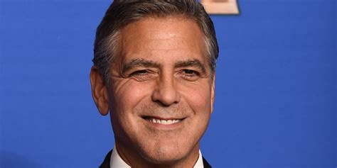 George Clooney Doesnt Come Cheap by George Clooney Reveals Why He Ll Never Dye His Hair Huffpost