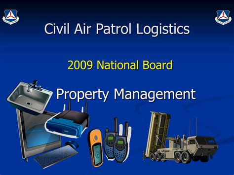 Ppt Civil Air Patrol Logistics Powerpoint Presentation Id 315561 Civil Air Patrol Powerpoint Template