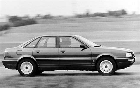 audi 80 review audi 80 sedan 1991 1995 reviews technical data prices