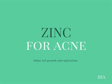 supplement zinc acne what are the best vitamin supplements for acne prone skin