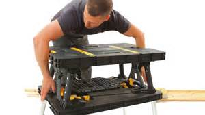 Keter Folding Work Bench Review - keter folding work table youtube