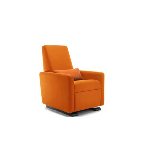 Orange Recliner by Monte Design Grano Glider Recliner In Orange