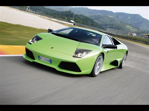 Lamborghini Murcielago Green Lamborghini Murcielago Lp640 Green Front Angle Speed