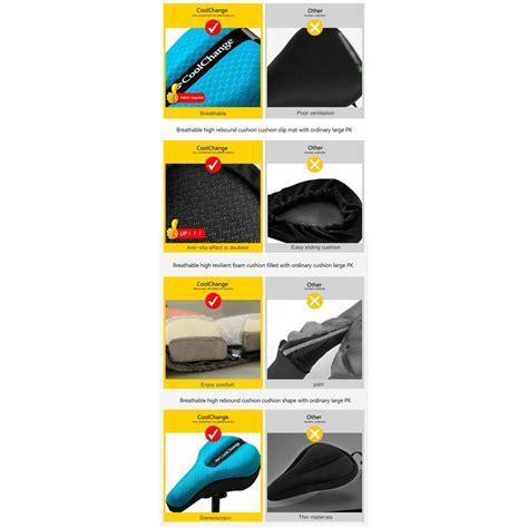 Jok Sadel Sepeda Sporty coolchange jok sadel sepeda profesional black jakartanotebook