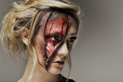 zombie zipper tutorial the gallery for gt zipper makeup