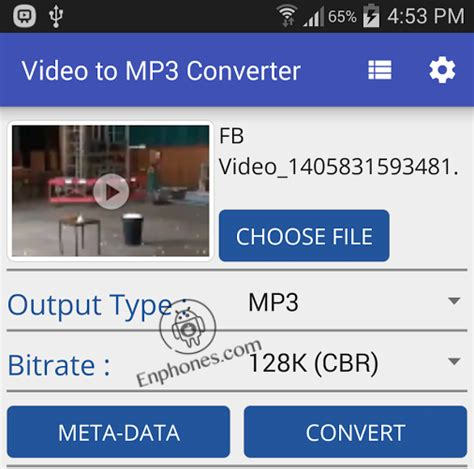 how to convert to mp3 on android how to convert to audio mp3 in android enphones