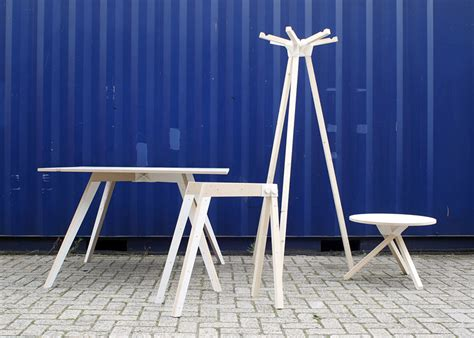3d Printed Mini Designer Chair Keystones Furniture With 3d Printed Joinery By Studio Minale Maeda Homeli