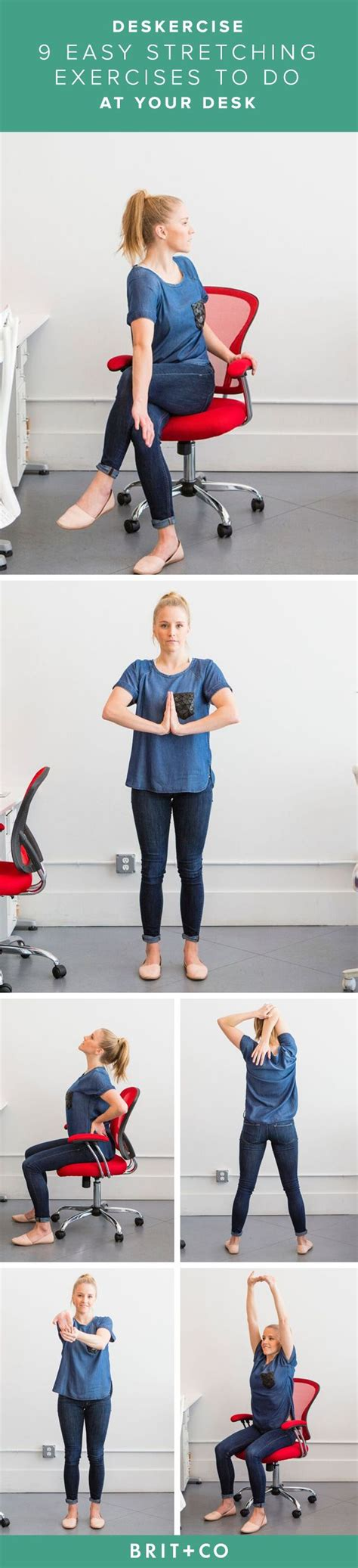 Exercises To Do At Desk by Deskercise 9 Easy Stretches You Can Do At Your Desk