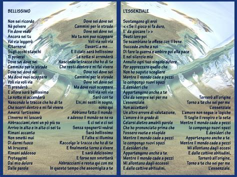 testo canzone l essenziale marco mengoni i testi delle tre canzoni sanremesi