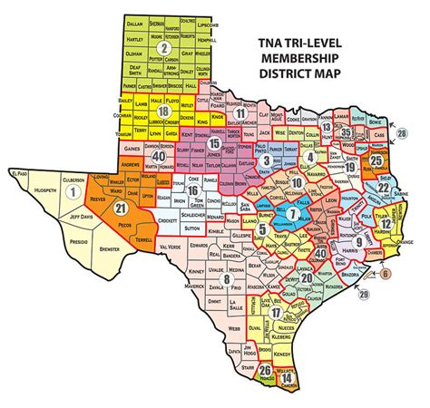 texas house of representatives map tna districts texas nurses association