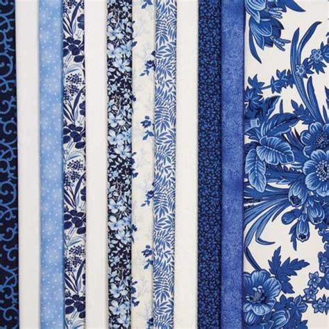 Keepsake Quilting Fabric delft blues color story fabric collection product details keepsake quilting
