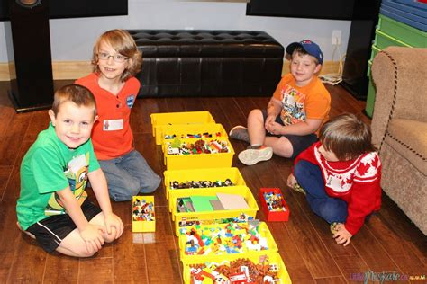kid ideas lego birthday and entertainment with n