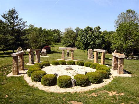 backyard stonehenge kentucky s stonehenge clonehenge