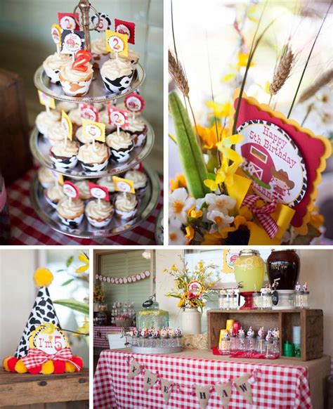 themes for joint birthday parties cowboy cowgirl themed joint birthday party with such