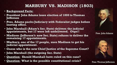 Marbury Vs Essay by Essay On Marbury Vs