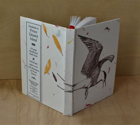Handmade Paper Book - handbound books hazeltree press paper