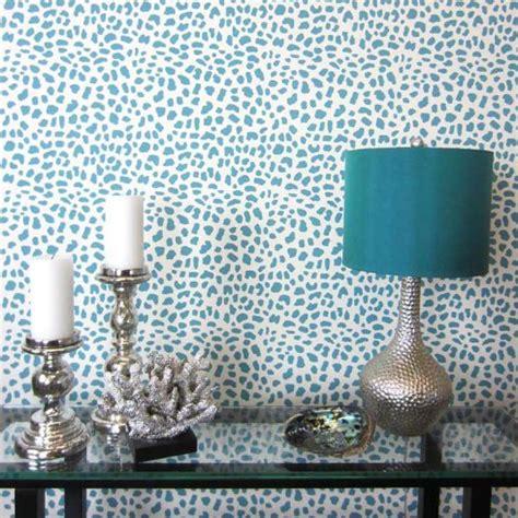 leopard home decor leopard skin allover stencil small scale reusable wall