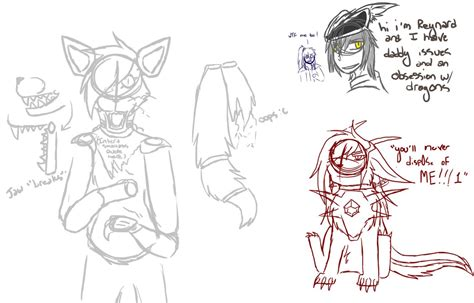 doodle chimera character design doodles by hollowed chimera on deviantart