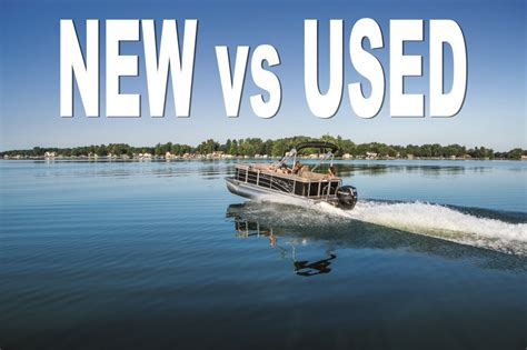 should i buy a used pontoon boat smart boat buyer - Should I Buy A Used Pontoon Boat