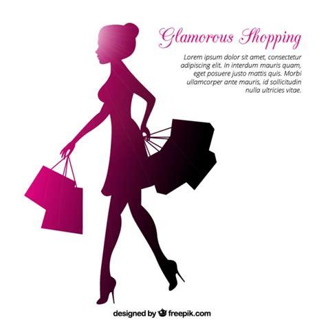 imagenes vectores compras mujer de compras fotos y vectores gratis