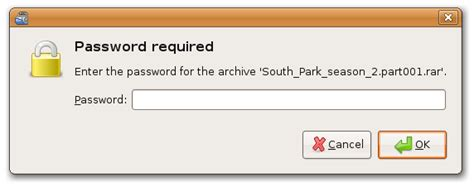 reset windows xp password with ubuntu fix quot password required quot error when using unrar in ubuntu
