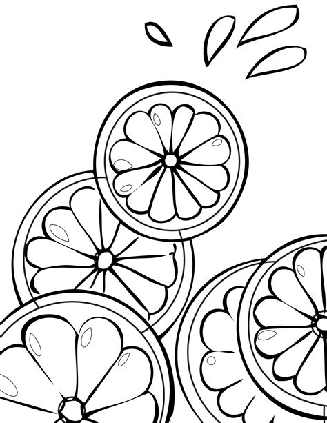 lemon tree coloring page lemon tree coloring page coloring pages ideas
