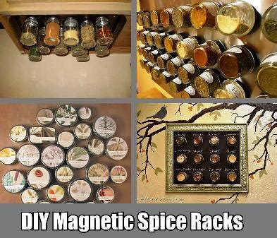diy magnetic chalkboard spice rack 4 diy magnetic spice rack ideas
