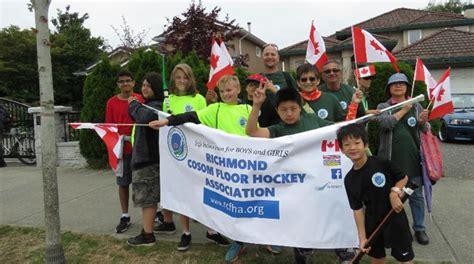 new year festival richmond 2016 2016 salmon festival parade richmond cosom floor hockey