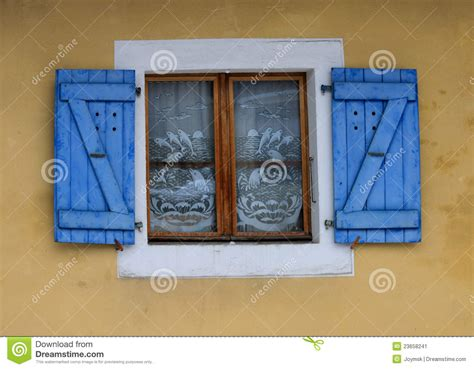house window blinds house window with blinds stock image image 23658241