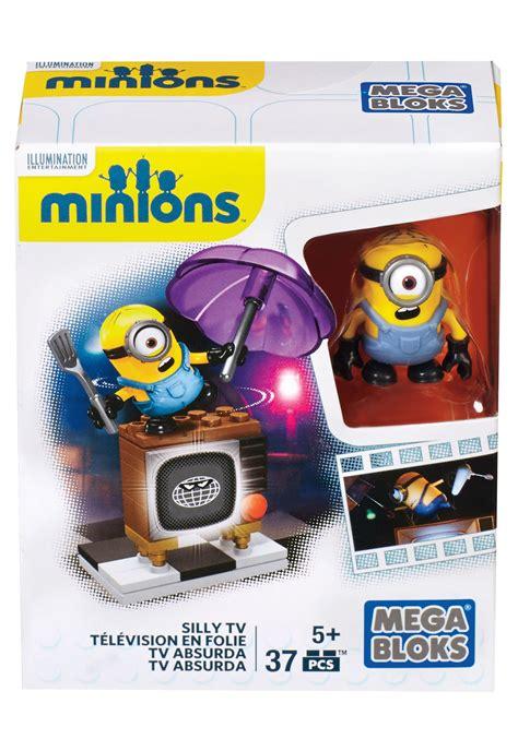 mega bloks minions silly tv set