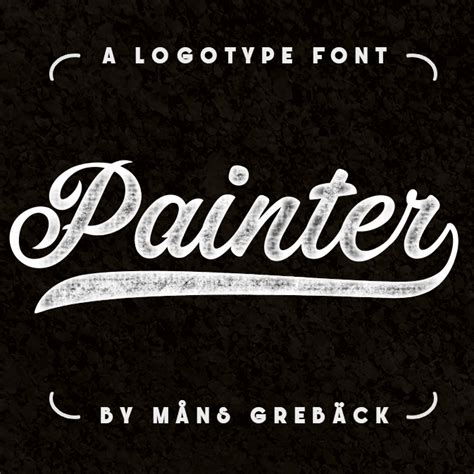 font kekinian painter font befonts com