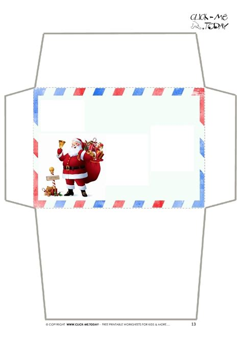 printable envelope christmas free christmas envelope templates invitation template