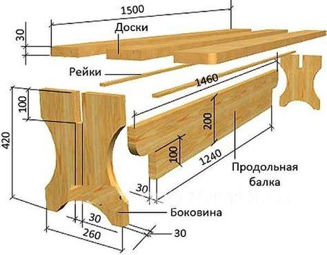 Из дерева садовая мебель своими руками