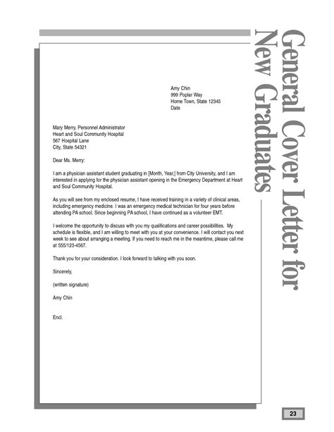 Pa Cover Letter best photos of physician assistant new graduate cover