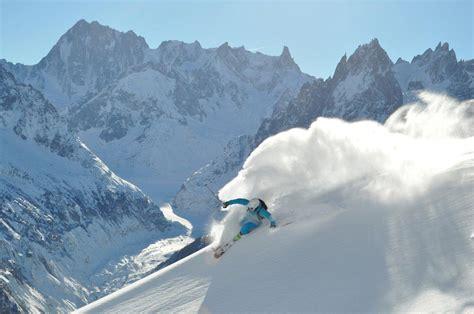 chamonix france top 10 off piste ski routes in chamonix powderbeds