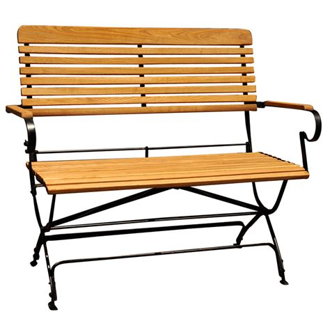 folding outdoor bench antiques com classifieds antiques 187 antique garden