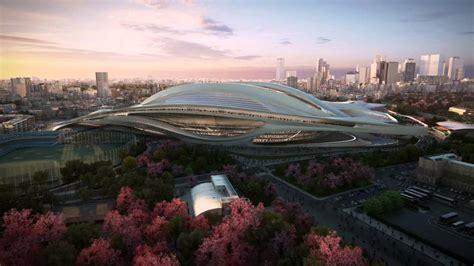 designboom zaha hadid japan japan national stadium tokyo 2020 olympic stadium by