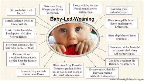 baby led weaning ab wann beikost vollwertigebabynahrung de leckere hausgemachte