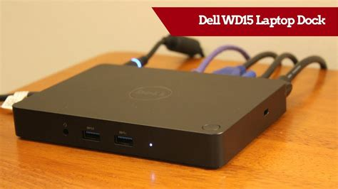 dell wd15 usb c laptop dock review