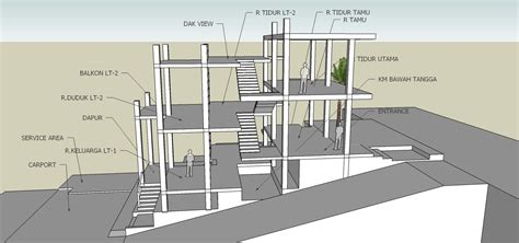 Split Entry House Plans arsitek rumah split level house plans