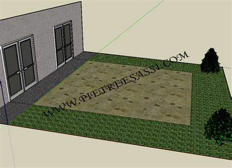pavimentazione cortile esterno pavimentazione esterno pietreesassi