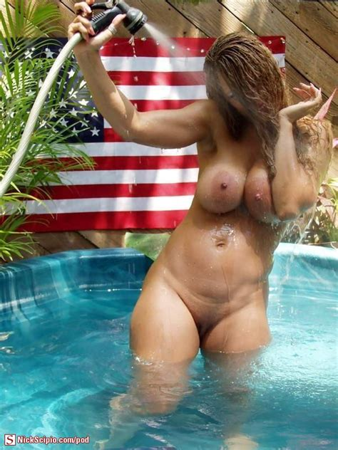 Nude Milf Pool And American Flag Picture Of The Day Nickscipio Com