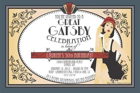 Diy Printable Custom Roaring 1920 S Flapper Great Gatsby Party Invitation 1920s Invitation Template Free
