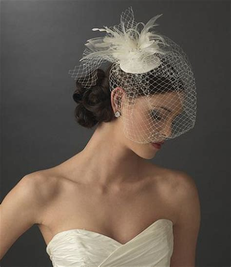 7 Birdcage Veils To Rock For Your Wedding by 6 A Feather In Your Hat 7 Birdcage Veils To Rock For