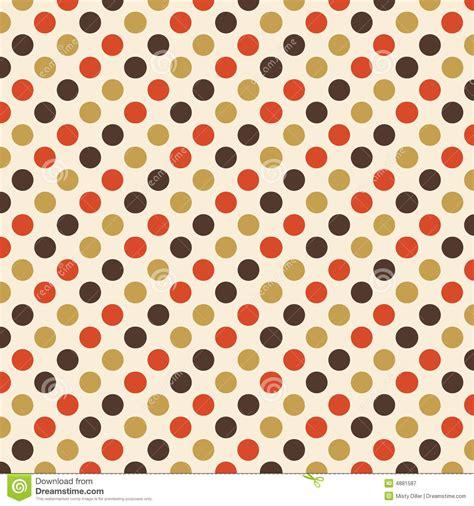 retro polka dot pattern vector by heizel on vectorstock retro polka dot design stock illustration image of
