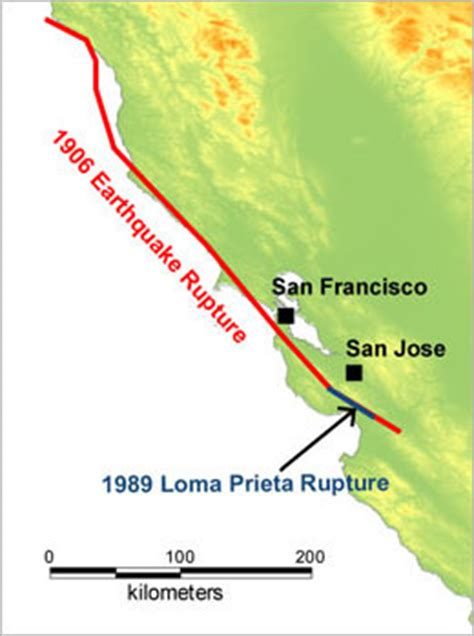 san francisco map pre 1989 loma prieta s legacy twenty years on